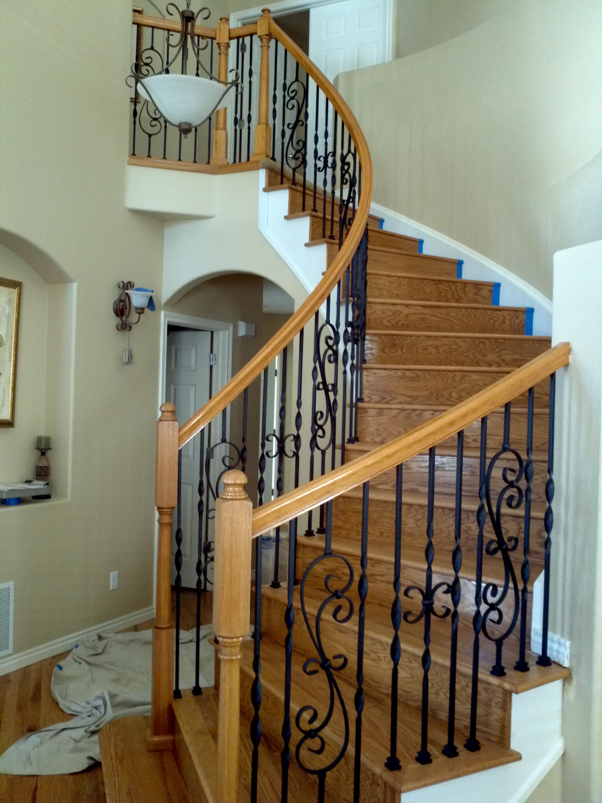 Iron Balusters And Railings Denver Colorado