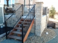 iron baluster-and-railings