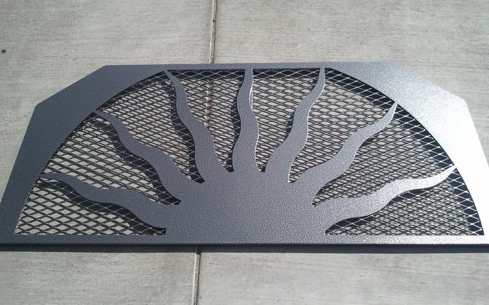 Custom Iron Window Well Grates Covers Iron Railings And